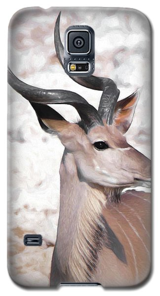 The Kudu Portrait Galaxy S5 Case by Ernie Echols