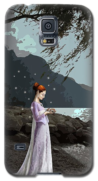 The Lady And The Kitty Galaxy S5 Case