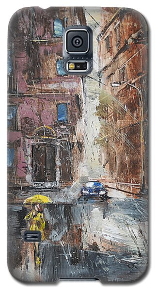 The Lady In Yellow Galaxy S5 Case
