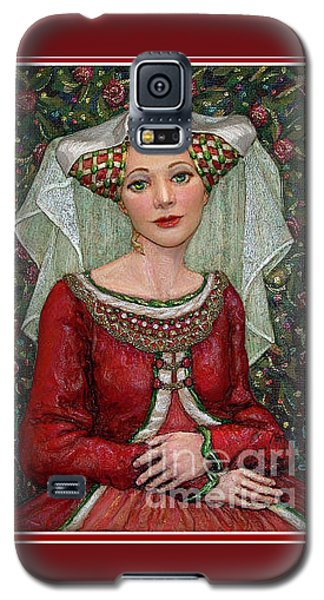 The Lady Mae   Bas Relief Miniature Galaxy S5 Case