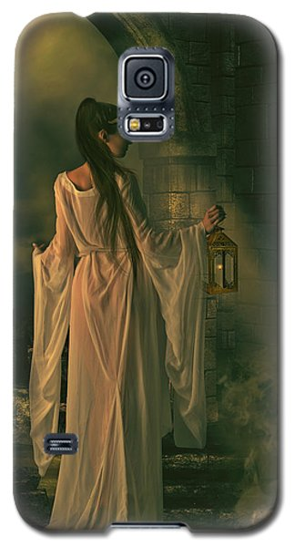The Lady Of Shalott Galaxy S5 Case by Shanina Conway