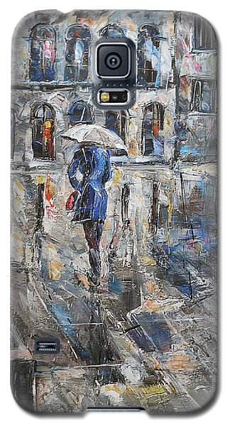 The Lady In Blue Galaxy S5 Case
