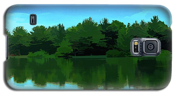 The Lake - Impressionism Galaxy S5 Case