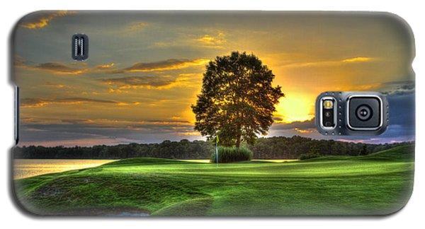 The Landing Golf Course Reynolds Plantation Landscape Art Galaxy S5 Case