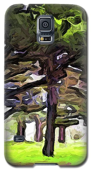 The Landscape With The Leaning Trees Galaxy S5 Case