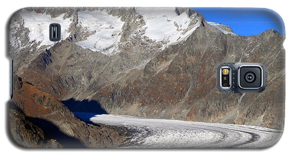 The Large Aletsch Glacier In Switzerland Galaxy S5 Case