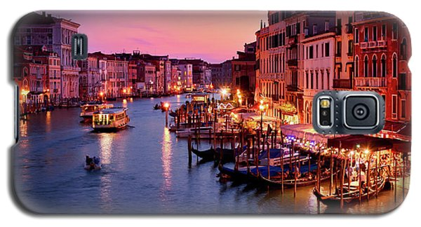 The Blue Hour From The Rialto Bridge In Venice, Italy Galaxy S5 Case