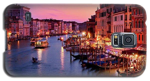 The Blue Hour From The Rialto Bridge In Venice, Italy Galaxy S5 Case