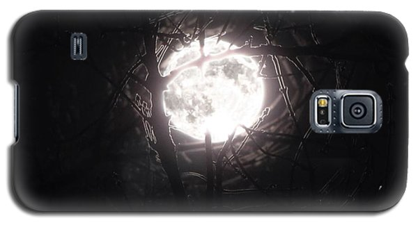 The Last Nights Moon Galaxy S5 Case