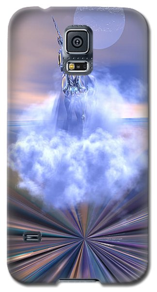Galaxy S5 Case featuring the digital art The Last Of The Unicorns by Claude McCoy