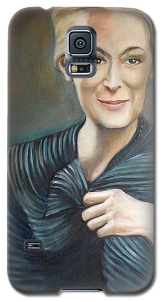 Galaxy S5 Case featuring the painting The Last Pose by Irena Mohr