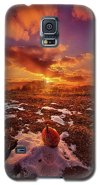 Galaxy S5 Case featuring the photograph The Last Pumpkin by Phil Koch