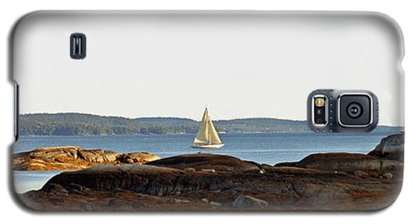 Galaxy S5 Case featuring the photograph The Last Sail by Christopher Mace