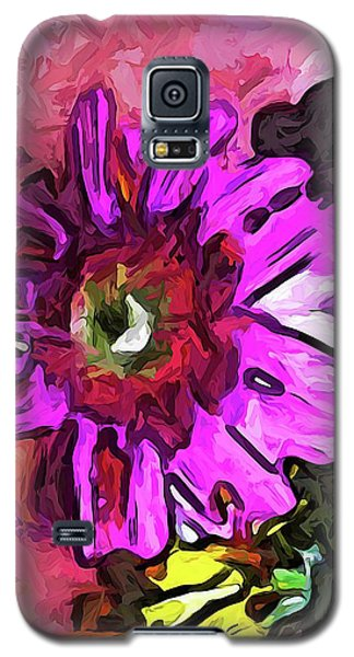The Lavender Flower Above The Yellow Flower Galaxy S5 Case