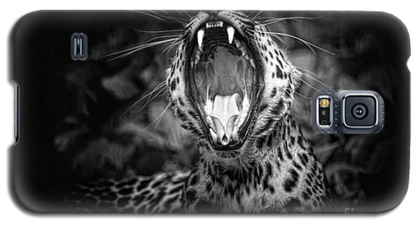The  Leopard's Tongue Rolling Roar Galaxy S5 Case