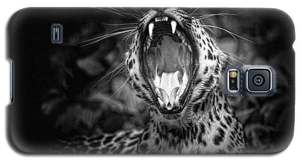 The  Leopard's Tongue Rolling Roar Galaxy S5 Case