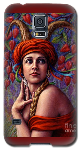 The Letter Galaxy S5 Case by Jane Bucci