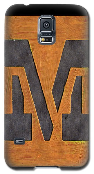 The Letter M Galaxy S5 Case