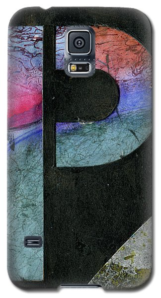 The Letter P Galaxy S5 Case