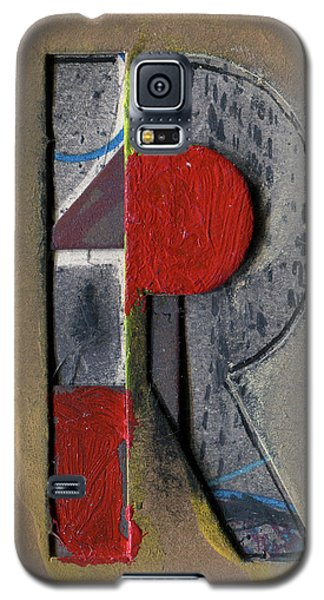 The Letter R Galaxy S5 Case