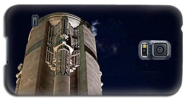 The Liberty Memorial At Night Galaxy S5 Case