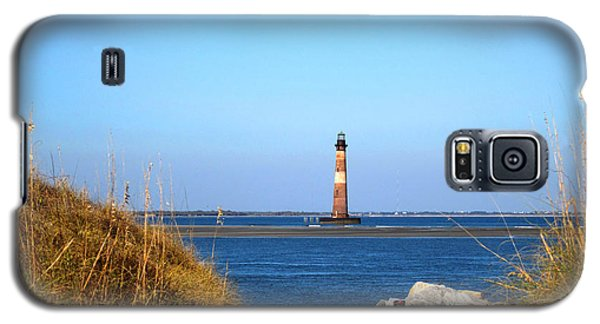 The Lighhouse At Morris Island Charleston Galaxy S5 Case