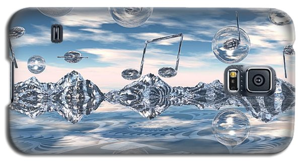 Galaxy S5 Case featuring the digital art The Light Bender Cantata by Michelle H