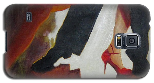 Galaxy S5 Case featuring the painting The Light Fandango by Keith Thue