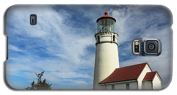 The Lighthouse At Cape Blanco Galaxy S5 Case