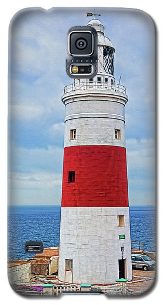 The Lighthouse At Europa Point Galaxy S5 Case