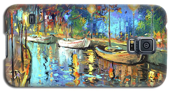 The Lights Of The Sleeping City Galaxy S5 Case by Dmitry Spiros