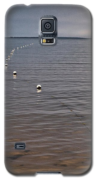 Galaxy S5 Case featuring the photograph The Line by Jouko Lehto