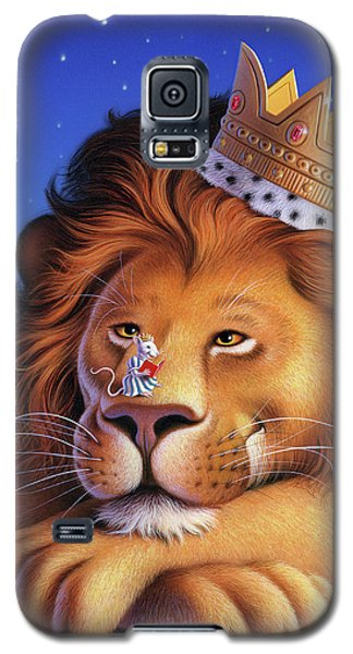 Mouse Galaxy S5 Case - The Lion King by Jerry LoFaro