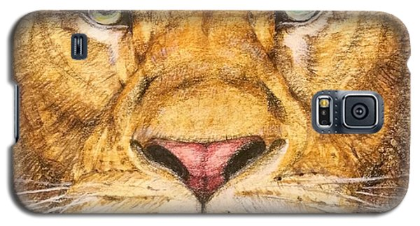 The Lion Roar Of Freedom Galaxy S5 Case by Kent Chua