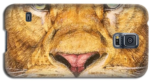 Detail Galaxy S5 Case - The Lion Roar Of Freedom by Kent Chua