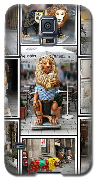 The Lions Of Munich Galaxy S5 Case