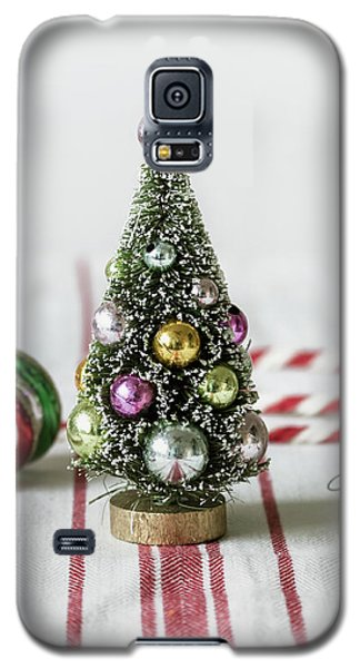 Galaxy S5 Case featuring the photograph The Little Christmas Tree by Kim Hojnacki