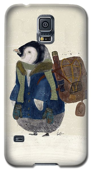 Galaxy S5 Case featuring the painting The Little Explorer by Bri B