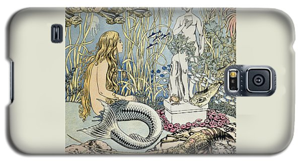 The Little Mermaid Galaxy S5 Case by Ivan Jakovlevich Bilibin
