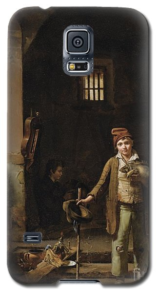 The Little Savoyards' Bedroom Or The Little Groundhog Shower Galaxy S5 Case by Celestial Images