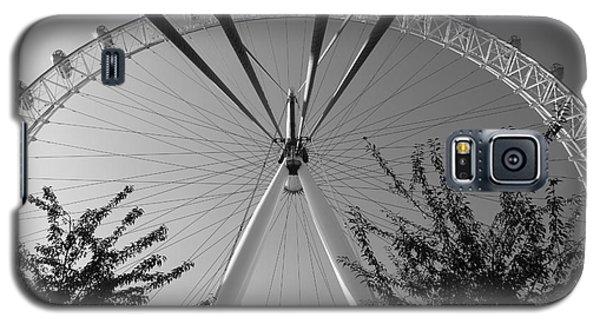 The London Eye  Monotone Galaxy S5 Case
