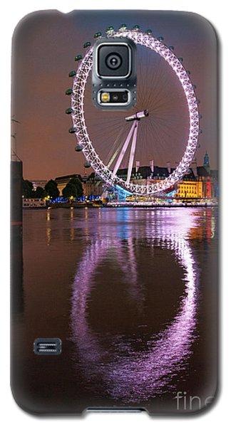 The London Eye Galaxy S5 Case by Nichola Denny