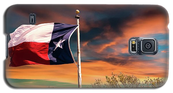 The Lone Star Flag Galaxy S5 Case