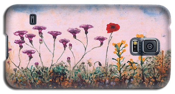 The Lonely Poppy Galaxy S5 Case