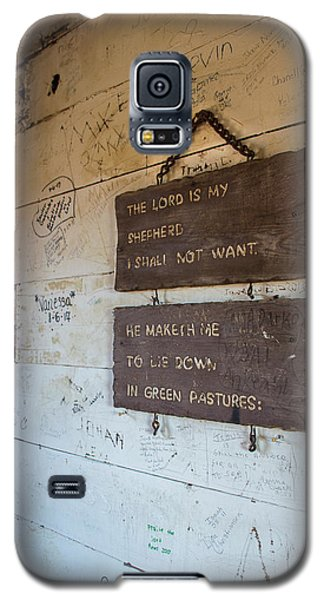 The Lord Is My Shepherd Galaxy S5 Case