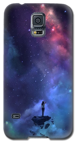 Galaxy S5 Case featuring the digital art The Loss by Steve Goad