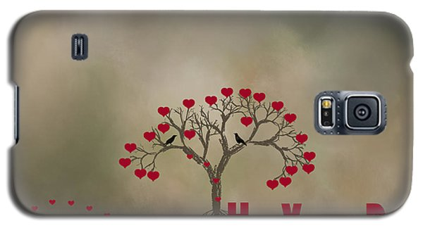 Galaxy S5 Case featuring the photograph The Love Tree by Darren Fisher