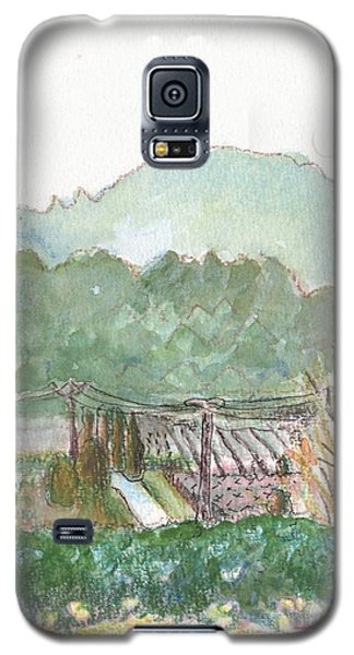 The Luberon Valley Galaxy S5 Case by Tilly Strauss