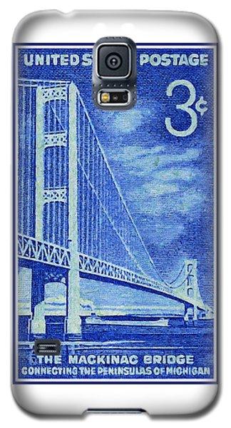 The Mackinac Bridge Stamp Galaxy S5 Case