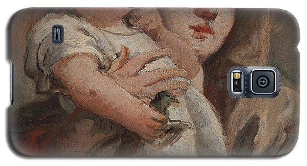 The Madonna And Child With A Goldfinch Galaxy S5 Case by Tiepolo